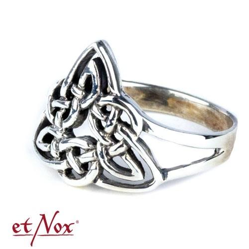 """etNox - Ring """"Keltischer Knoten"""" 925 Silber"""