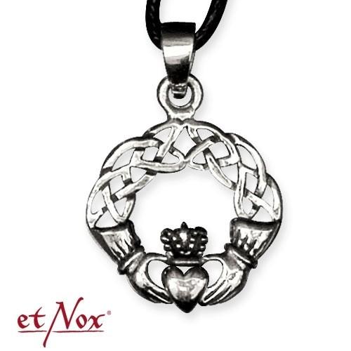 "etNox-Anhänger ""Claddagh"" 925 Silver"