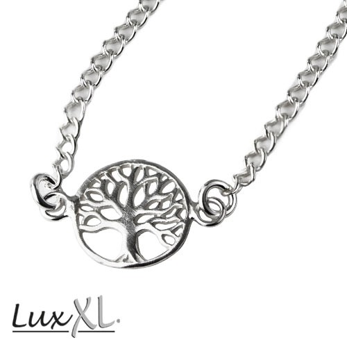 """LuxXL - Kette """"Lebensbaum"""" 925 Silber"""
