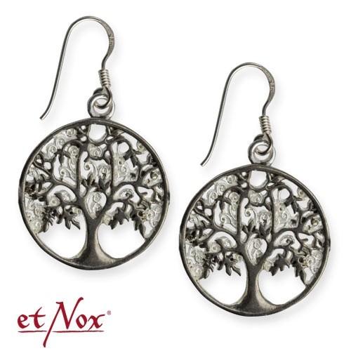 "etNox-Ohrringe ""Lebensbaum"" Bronze"