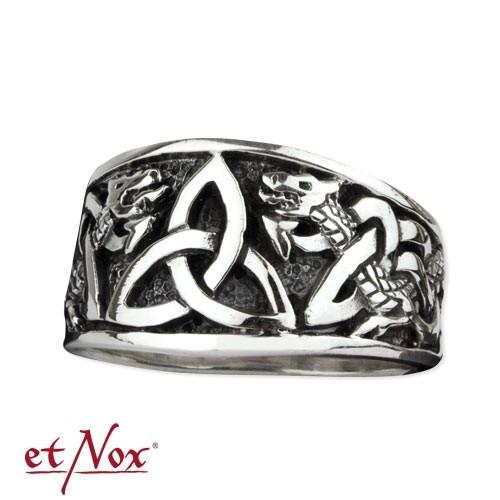 """etNox - Silberring """"Keltischer Knoten"""""""