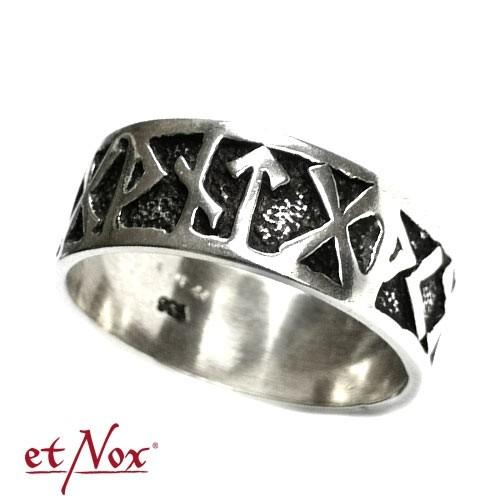 "etNox-Ring ""Runenring"" 925 Silber"