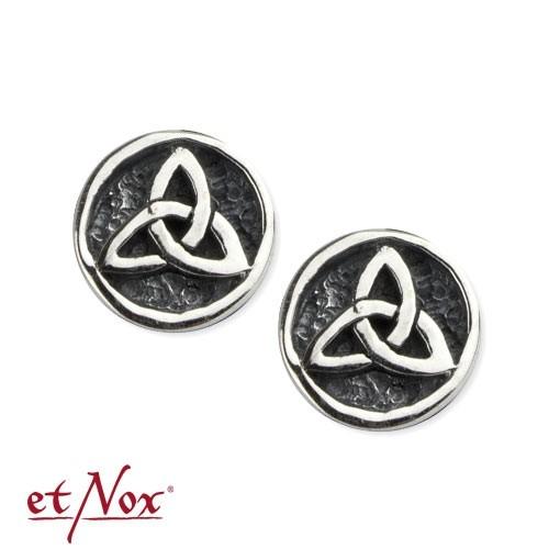"""etNox-Ohrstecker """"Triskele"""" 925 Silber"""
