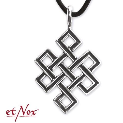 """etNox-Anhänger """"Unendlicher Knoten"""" 925 Silber"""