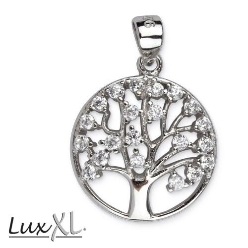 "LuxXL Silberanhänger ""Tree of Life"" mit Zirkonia"