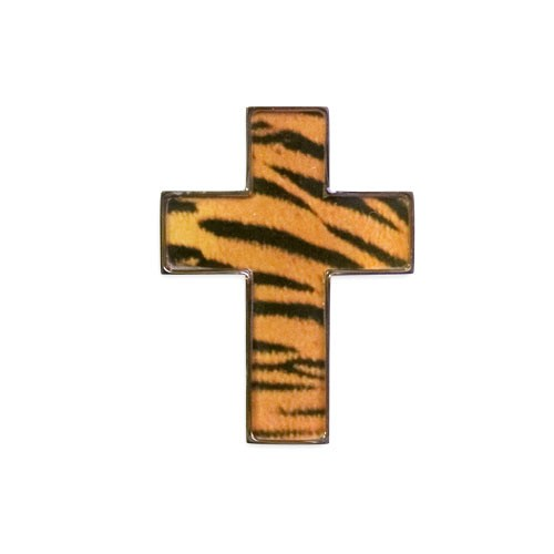 Edelstahlanhänger Tiger-Design