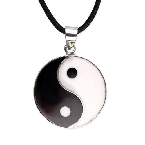 """etNox-Anhänger """"Yin-Yang """" 20 mm 925 Silber"""