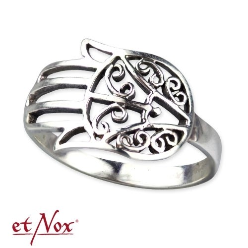 "etNox-Ring ""Fatimahs Hand"" 925 Silber"