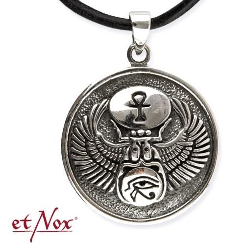 """etNox-Anhänger """"Skarabäus / Horus / Ankh"""" 925 Silber"""
