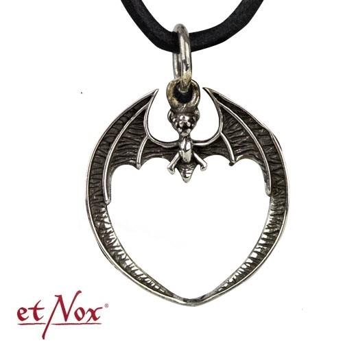 """etNox-Anhänger """"Bat"""" 925er Silber"""