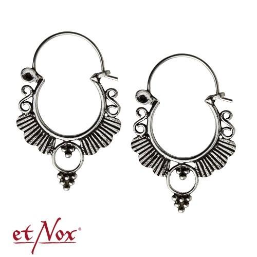 """etNox Silberohrringe """"Indisches Ornament"""""""