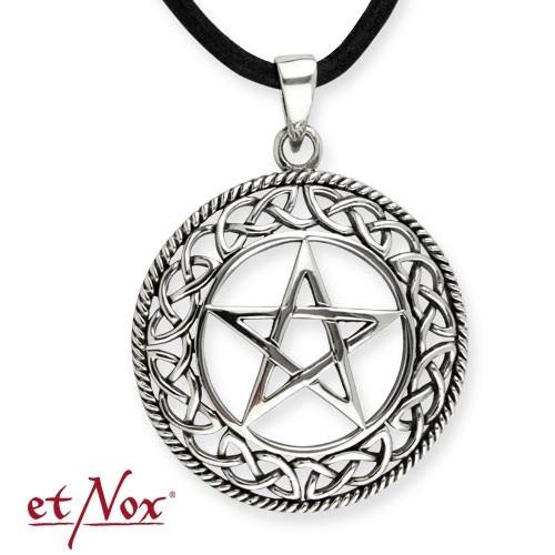 """etNox - Silberanhänger """"Pentagramm"""""""