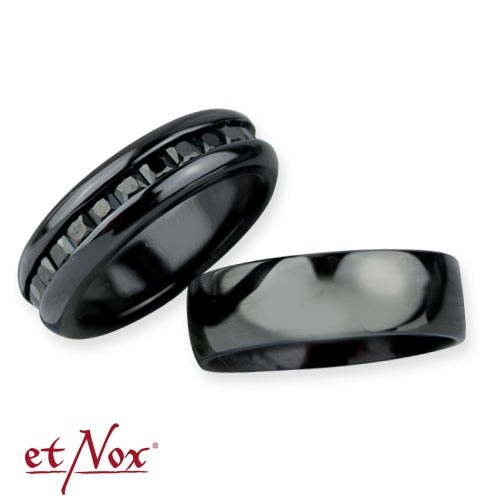 "etNox Ring-Duo ""Dark Romance"""