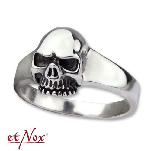 """etNox - Ring """"Skull"""" 925 Silber"""