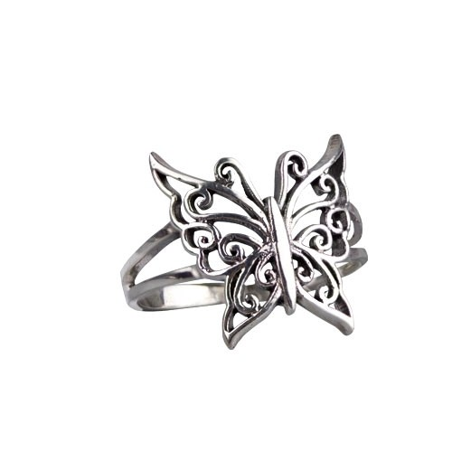 """LuxXL Ring """"Butterfly"""" 925 Silber"""