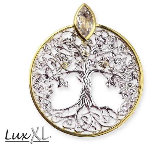 """LuxXL Anhänger """"Lebensbaum"""" 925er Silber"""