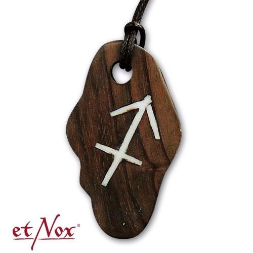 """etNox-Anhänger """"Schütze"""" aus Holz"""