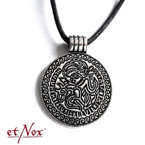 """etNox-Anhänger """"Odin-Amulett"""" 925 Silber"""