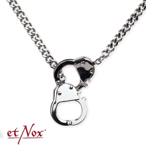 """etNox - Kette """"Chained and Locked"""" Edelstahl"""