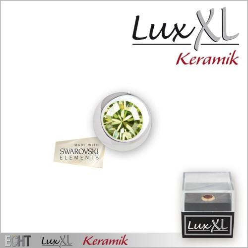 """Edelstahl-Aufsatz """"LuxXL Keramik"""""""
