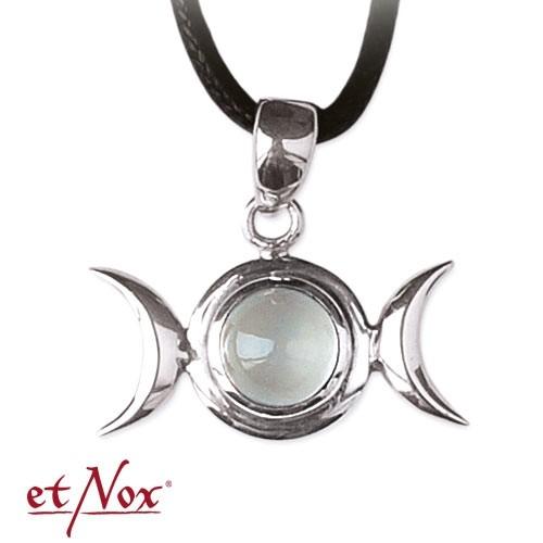 """etNox-Anhänger """"Mondphase"""" 925 Silber mit RMS"""