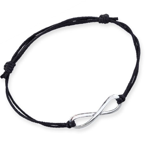 "LuxXL Armband ""Infinity"" mit Silberelement"