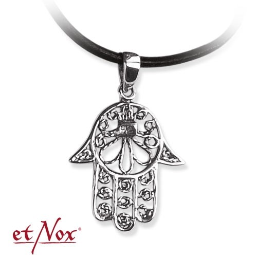 """etNox-Anhänger """"Fatimahs Hand"""" 925 Silber"""
