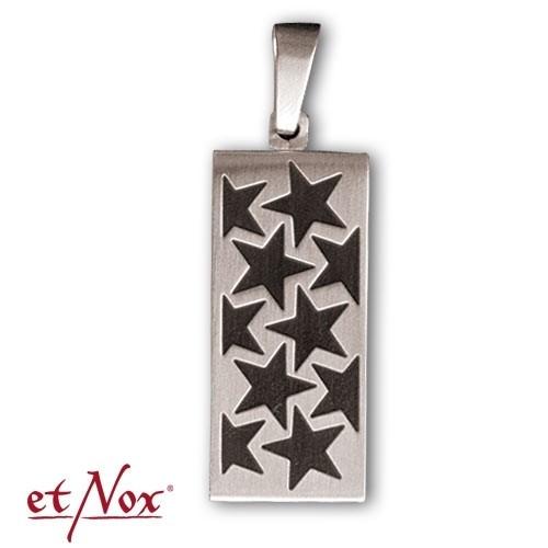 """Edelstahl-Anhänger """"Star USB"""""""