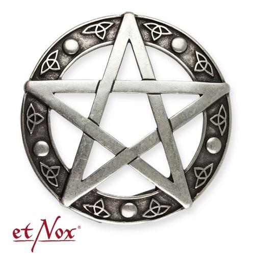"""etNox - Gürtelschnalle """"Pentagramm"""""""