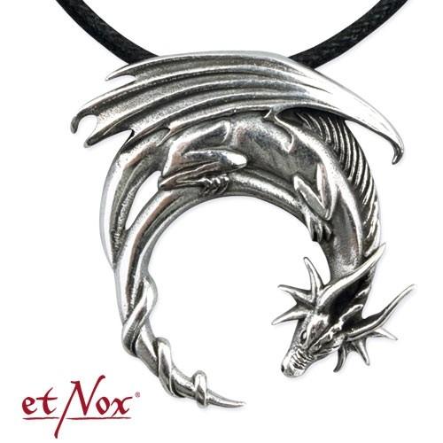 """etNox-Anhänger """"Fantasy Dragon"""" 925 Silber"""