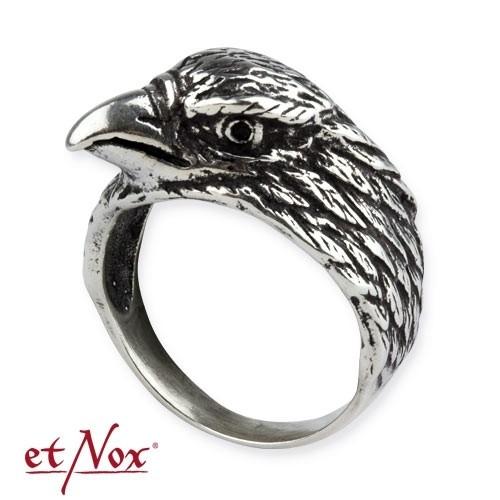 """etNox-Ring """"Adler"""" 925 Silber"""