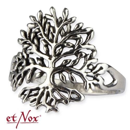 """etNox-Ring """"Lebensbaum"""" 925er Silber"""