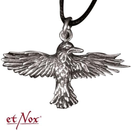 """etNox-Anhänger """"Fliegender Rabe"""" 925 Silber"""