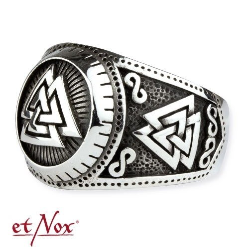 "etNox - Ring ""Wotansknoten"" 925 Silber"