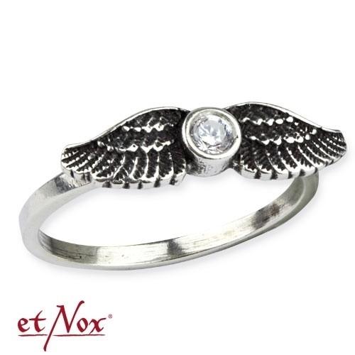 """etNox Silberring """"Wing"""""""