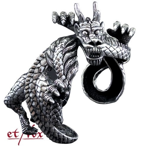 "etNox - Armreif ""Dragon bangle"" 925 Silber"