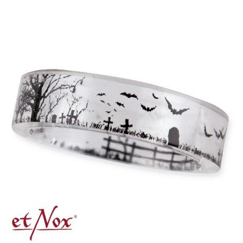"etNox Ring ""cemetery"" Kunstharz"